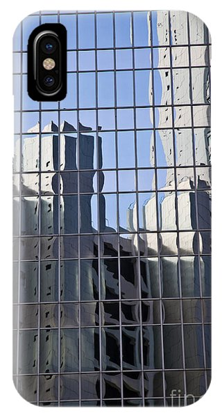 Glass Wall With The Reflection  Phone Case by IB Photography