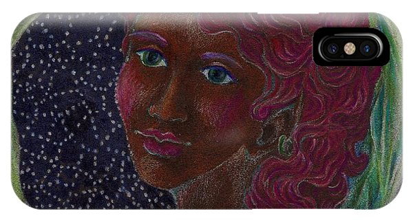 Goddess In The Window To The Sky IPhone Case