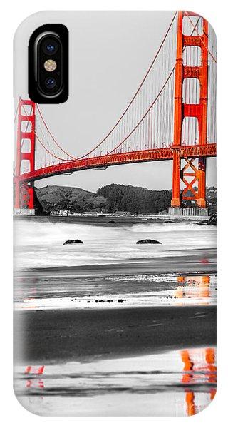 Golden Gate - San Francisco - California - Usa IPhone Case