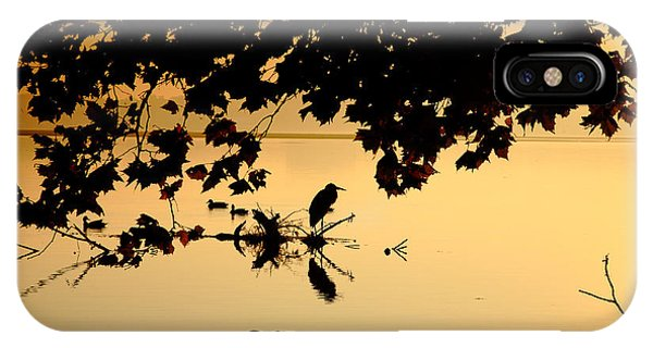Golden Morning II IPhone Case