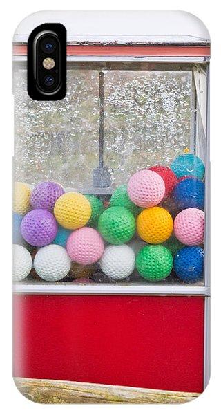 Dispenser iPhone Case - Golf Balls by Tom Gowanlock