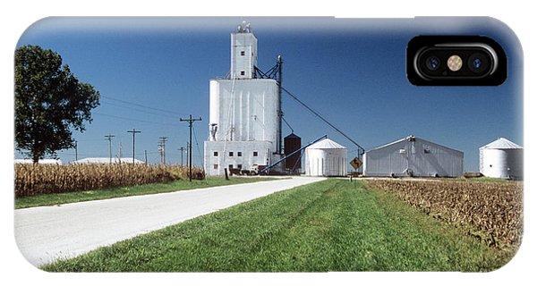 Silo iPhone Case - Grain Silos by David Hay Jones/science Photo Library
