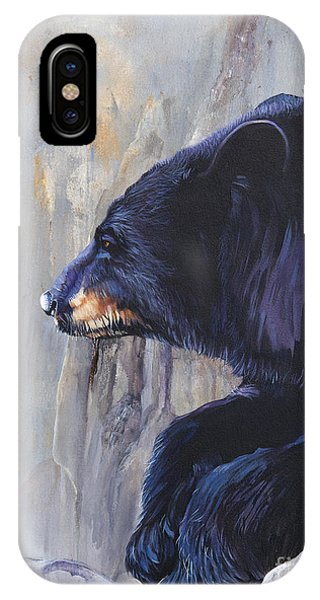 Grandfather Bear IPhone Case