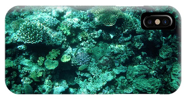 Barrier Reef iPhone Case - Great Barrier Reef by Andrew Mcclenaghan/science Photo Library.