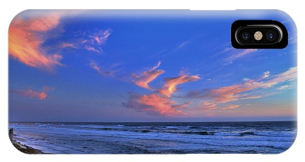Great Highway Sunset IPhone Case