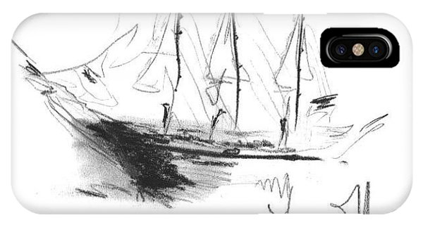 Great Men Sailing IPhone Case