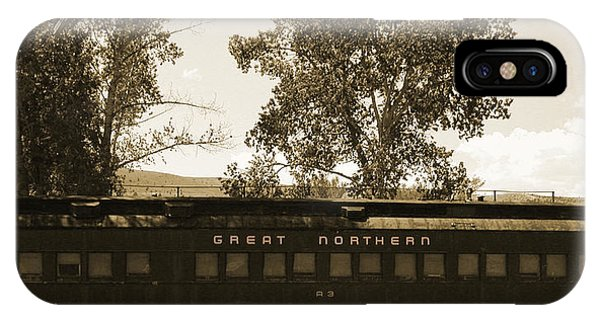 IPhone Case featuring the photograph Great Northern by David Armstrong