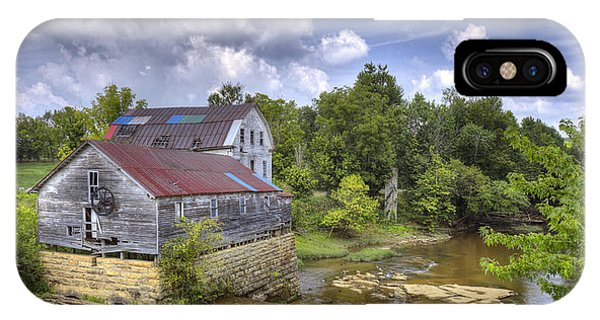 Greens Mill At Falls Of Rough Kentucky IPhone Case
