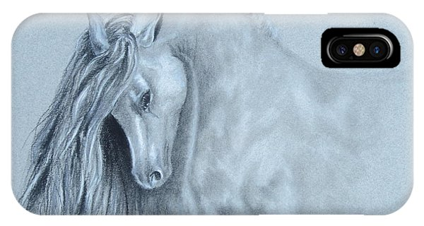 Grey Horse IPhone Case
