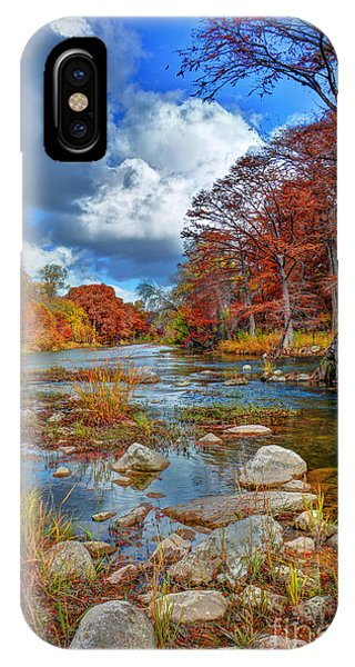 Guadalupe In The Fall IPhone Case