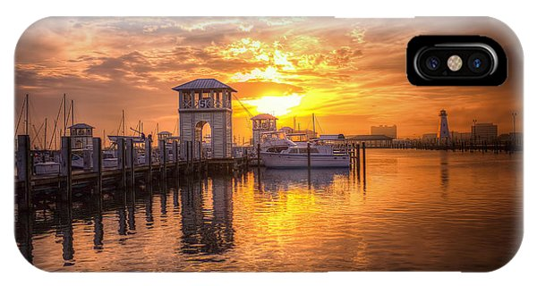 Gulfport Harbor IPhone Case