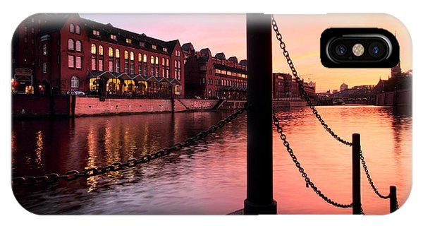 Hamburg Sunset IPhone Case