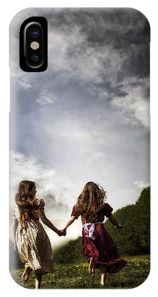 Quick iPhone Case - Hand In Hand Through Life by Joana Kruse