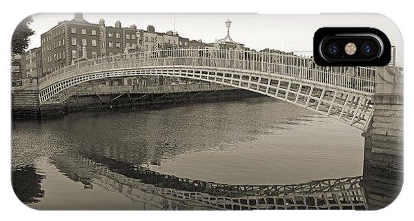Ha'penny Bridge Dublin Ireland IPhone Case