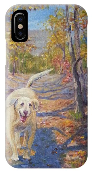 Happy Dog IPhone Case