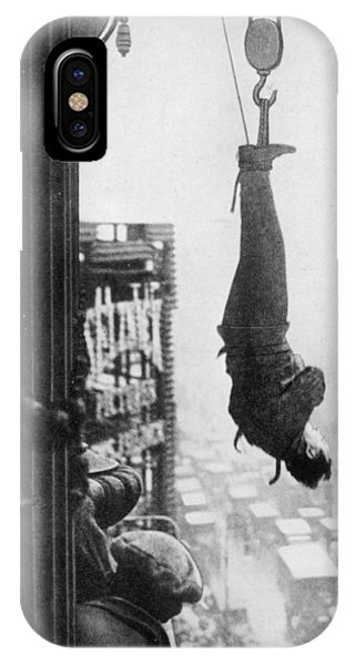 Free Will iPhone Case - Harry Houdini (1874-1926), American by Mary Evans Picture Library