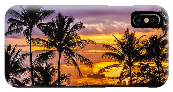 Hawaiian Sunset IPhone Case