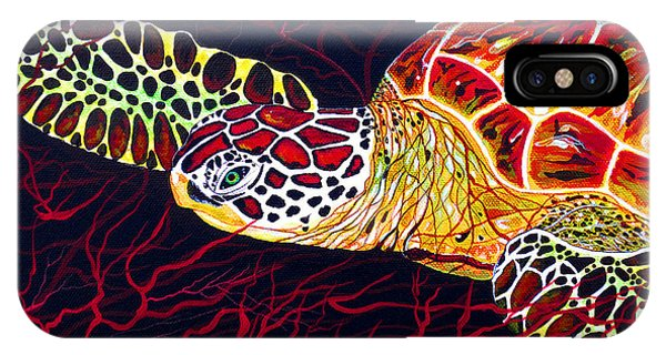 Hawksbill Turtle IPhone Case