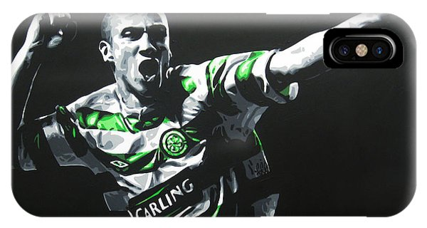 Henrik Larsson - Celtic Fc IPhone Case