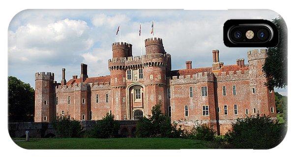 Herstmonceux Castle IPhone Case