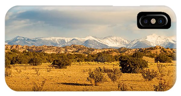 Sangre De Cristo iPhone Case - High Desert Plains Landscape by Panoramic Images