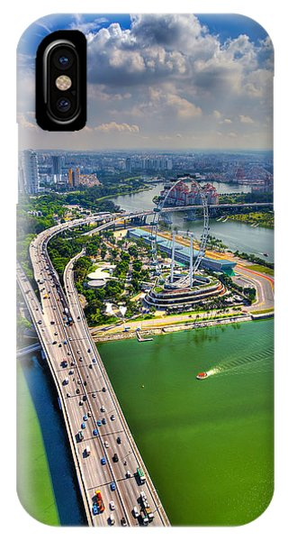 Highway Phone Case by Mario Legaspi
