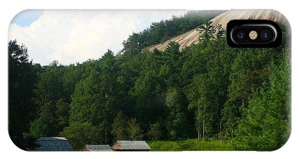 Historic Mountain Homestead IPhone Case