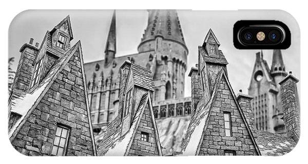 Hogwarts iPhone Case - Postcard From Hogsmeade by Edward Fielding