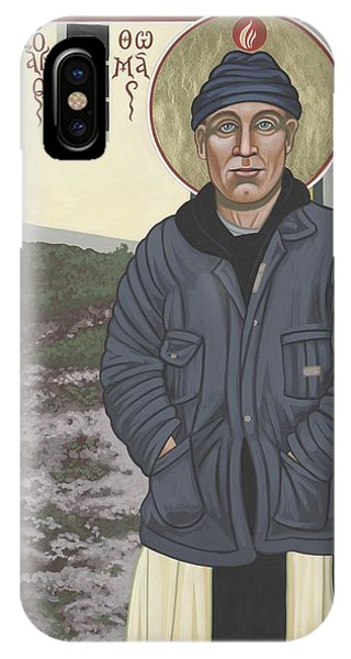 Holy World Evangelist Thomas Merton 267 IPhone Case