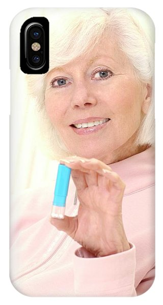 Dispenser iPhone Case - Homeopathic Medicine by Lea Paterson/science Photo Library