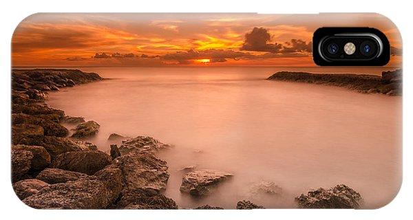 Honolulu Sunset IPhone Case