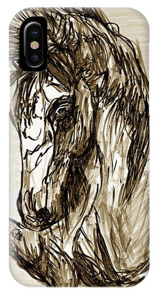 Horse Twins II IPhone Case
