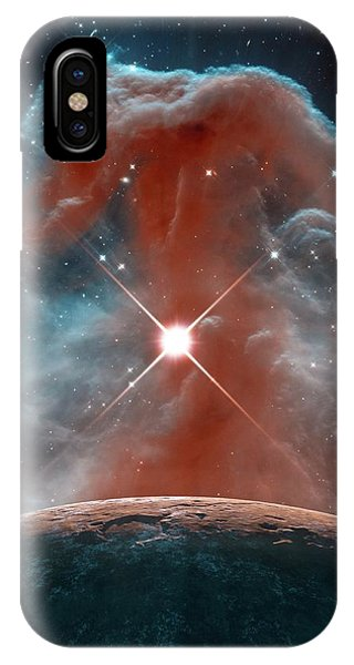 Infrared Radiation iPhone Case - Horsehead Nebula by Nasa,esa, And The Hubble Heritage Team (stsci/aura)/detlev Van Ravenswaay/science Photo Library