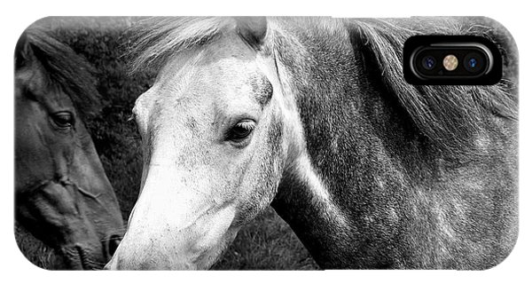 Horses Phone Case by Thomas Leon
