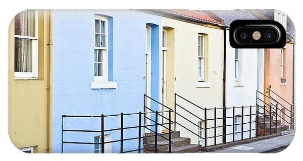 Beautiful Scotland iPhone Case - Houses by Tom Gowanlock