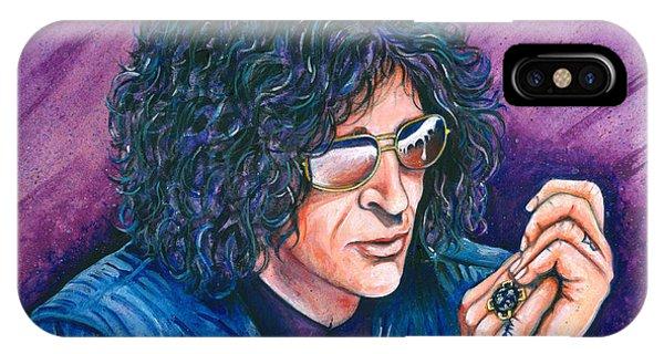 Howard Stern iPhone Case - Howard Stern by Jeff Gregorich