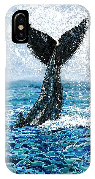 Humpback Flukes IPhone Case