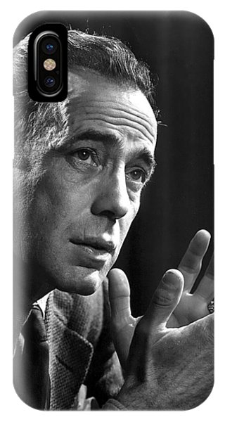 Humphrey Bogart Portrait 2 Karsh Photo Circa 1954-2014 IPhone Case