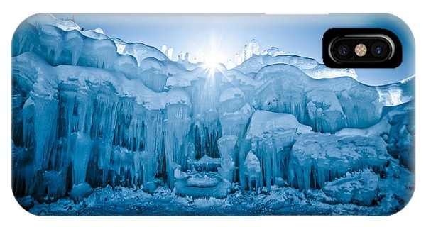 New Hampshire iPhone Case - Ice Castle by Edward Fielding