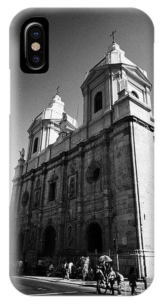 Iglesia De Santo Domingo Santiago Chile Phone Case by Joe Fox