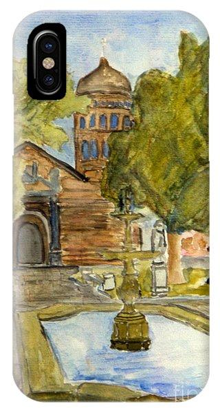 Iglesia En La Serena Phone Case by Greg Mason Burns