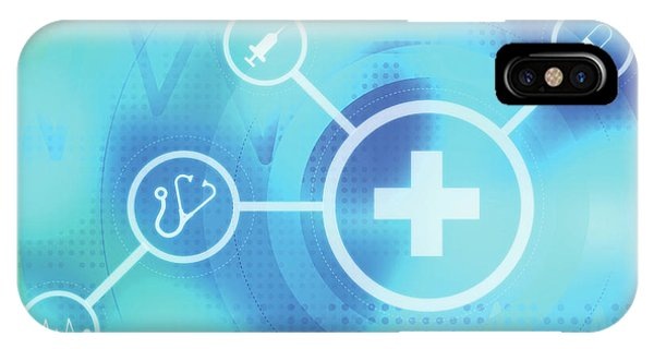 Illustration Of Medical Signs Phone Case by Fanatic Studio / Science Photo Library