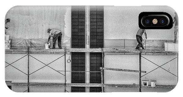 Reach iPhone Case - In The Rectangles by Gabriela Pantu