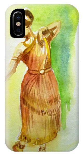 Indian Dancer IPhone Case