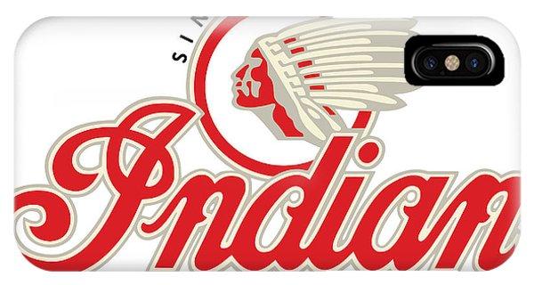 Indian Motorcycle Logo IPhone Case