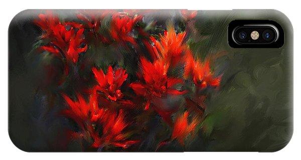 Indian Paintbrush IPhone Case