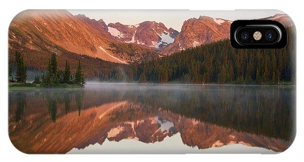 Indian Peaks At Sunrise IPhone Case