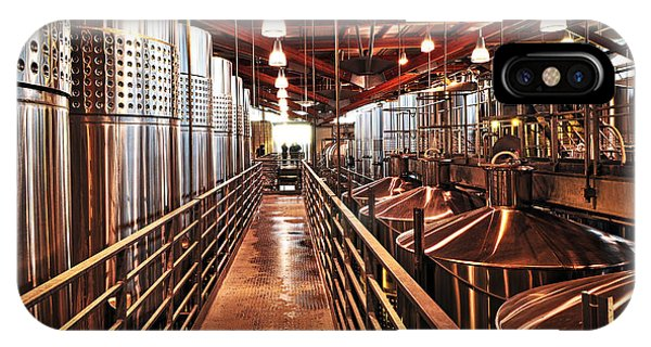 Stainless Steel iPhone Case - Inside Winery by Elena Elisseeva