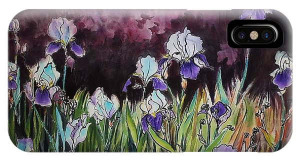Iris In My Backyard IPhone Case