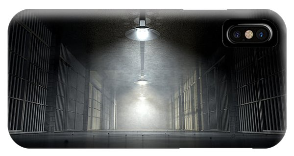 Jail Corridor And Cells IPhone Case